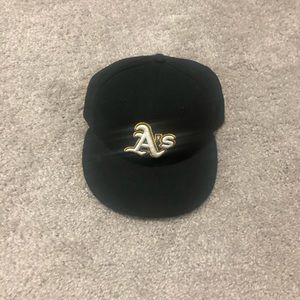 New Era Accessories - Oakland A's Fitted Cap